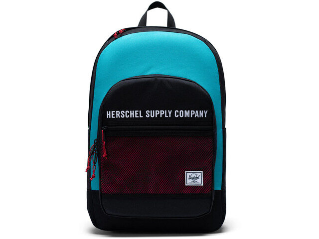 Herschel Kaine Backpack 30l black/tile blue/raspberry sorbet